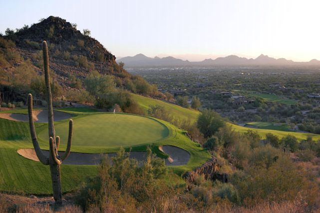 View of Golf Course and Mountains